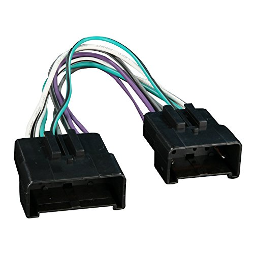 Metra 70-5513 Radio Wiring Harness for Ford Amplifier Eliminator Plug