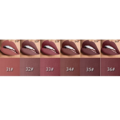 6 PC Set 3D Fantastic Moisture Nude Matte Lipsticks Pack- all colors for you to choose from (set ()
