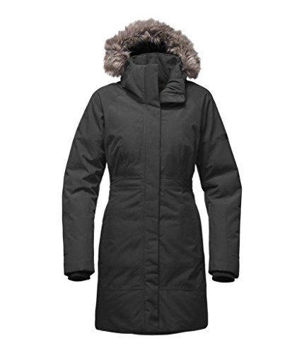 The North Face Women's Arctic Parka II - TNF Dark Grey Heather - L (Past Season) by The North Face