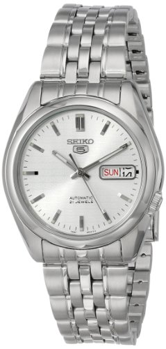 Seiko Men's SNK355 Automatic Stainless Steel Dress Watch