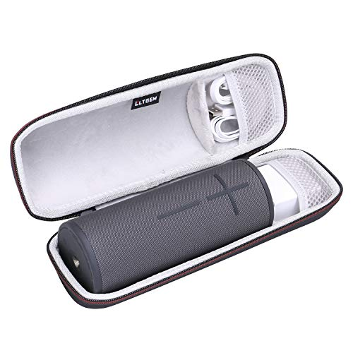 LTGEM Case for UE Ultimate Ears Boom 3 or DKnight Big MagicBox Portable Bluetooth Wireless Speaker.Fits USB Cable and Charger.
