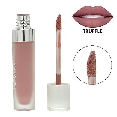 TOPquality Nuevo líquido de barra de labios de larga duración, brillo y mate. No deja rastro en la taza o el vaso.