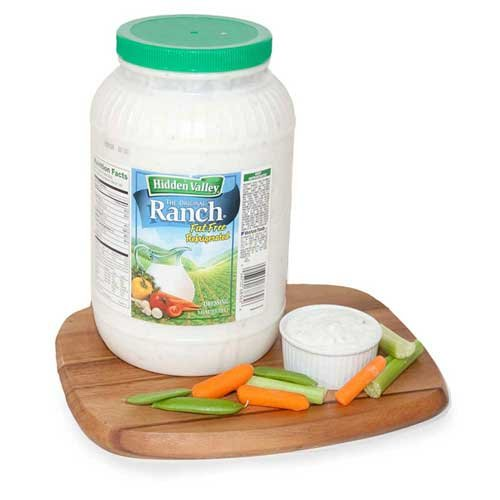 Ventura Foods Hidden Valley Original Ranch Dressing, 1 Gallon -- 4 per case.