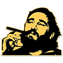Fidel Castro Vinyl Sticker - Car Window Bumper Laptop - SELECT SIZE