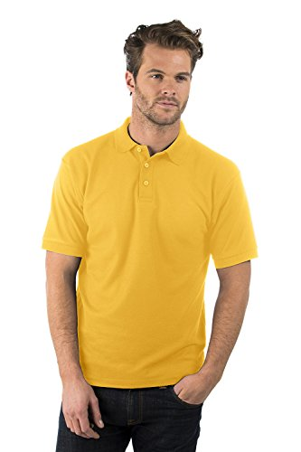 poliestere cotone 180 Donna Polo Shirt Classic giallo gsm E Uomo girasole Classic Bruntwood Shirt wPvWH88q