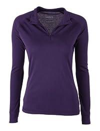 Mountain Warehouse Talus Womens Baselayer Top - Lightweight T-Shirt Purple 6