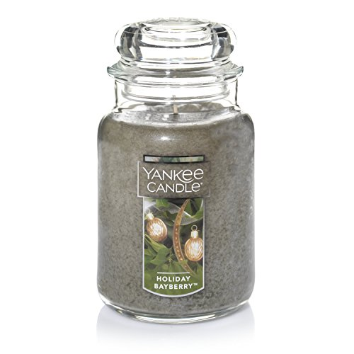 Bayberry Scented Candles - Yankee Candle Large Jar Candle, Holiday Bayberry