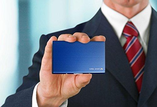 À Bancaire Steel Smart Rfid Technologie Carte Étui a7wHwIxPq
