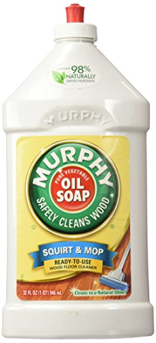 Murphys Squirt and Mop Ready To Use Wood Floor Cleaner, 32 Ounce,Pack of 3
