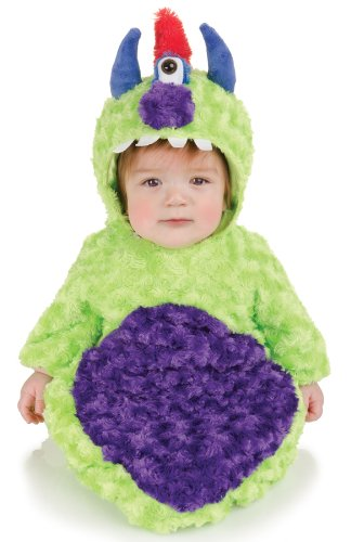 Underwraps Baby's Cyclops Bunting Belly-Babies, Green/Purple, Infant