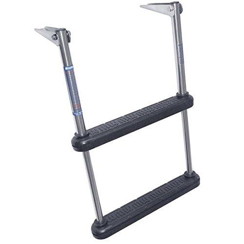 Windline TDL-2 2 Step Telescoping Over Platform Boat Ladder