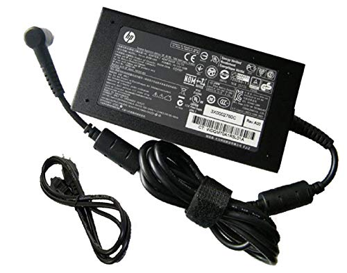 UpBright 120W 18.5V 6.5A N17908 NSW24204 Smart Pin 19.5V 6.15A Slim AC Adapter Power Supply For OEM HP Compaq 609941-001 613154-001 519331-001 730982-002 Pavilion Dv4 DV6 DV7 DV8 Elitebook 8540p 8540w