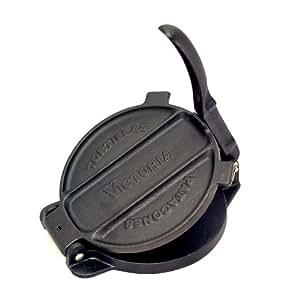 Amazon.com: Victoria Cast Iron 6.5-Inch Tortilla Press and