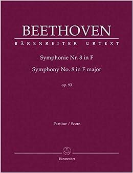 ベートーヴェン: 交響曲 第8番 ヘ長調 Op.93/原典版/デル・マー編/ベーレンライター社: 指揮者用大型スコア