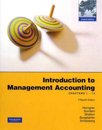 Download Introduction to Management Accounting: Chapters 1-14 PDF