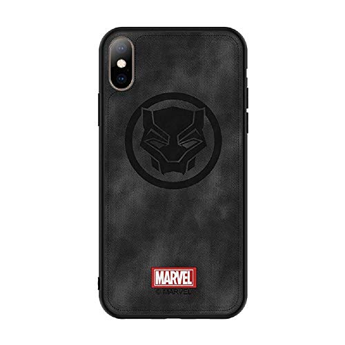 FutureLife Store Phone case for iPhone X XS XR XS MAX Captain Marvel The Avengers Cloth Back Cover Iron Man (6, IP Xs Max) ()