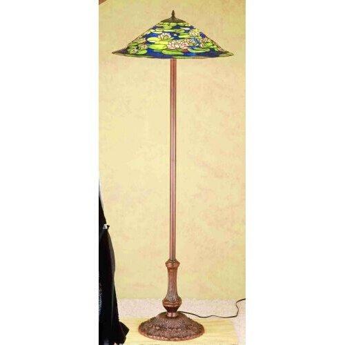 (3-Light Pond Lily Floor Lamp)