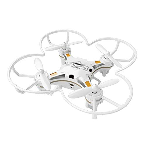 FQ777-124 Pocket Drone 4CH 6Axis Gyro Drone Quadcopter with Switchable Controller RTF - White
