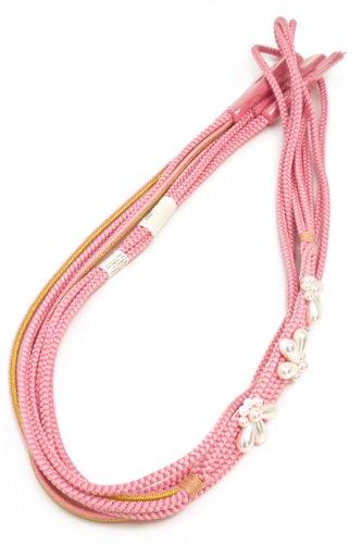 帯締め ピンク 正絹 [成人式/振袖]