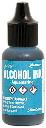 (Ranger Aquamarine Tim Holtz Alcohol Ink .5oz)