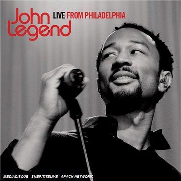 Live From Philadelphia by Legend, John