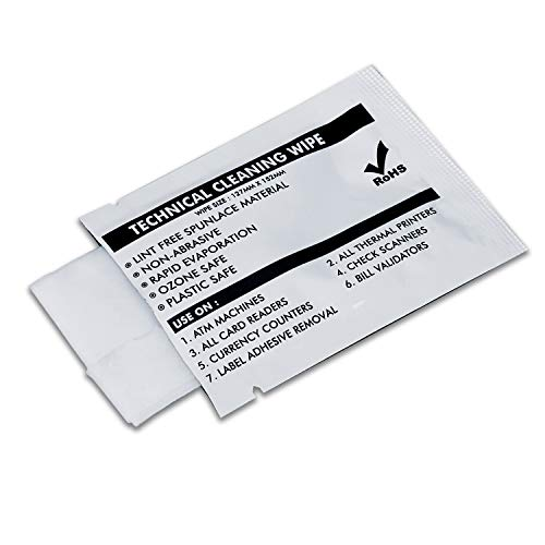 - 99.9%(IPA Wipes) Isopropyl Alcohol Cleaning Large Non Woven Wipe For Printer/Printhead/Print Head/Electronics/Ink Remover Cleaning, Thermal Grease Paste Compound Purifier (5