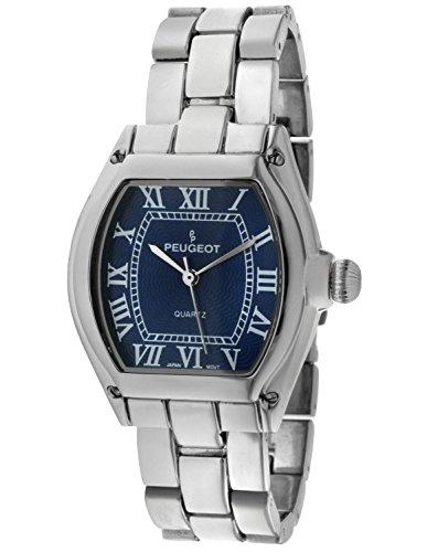 Peugeot Women's 7069SBL Silver-tone Roman Numeral Bracelet Watch