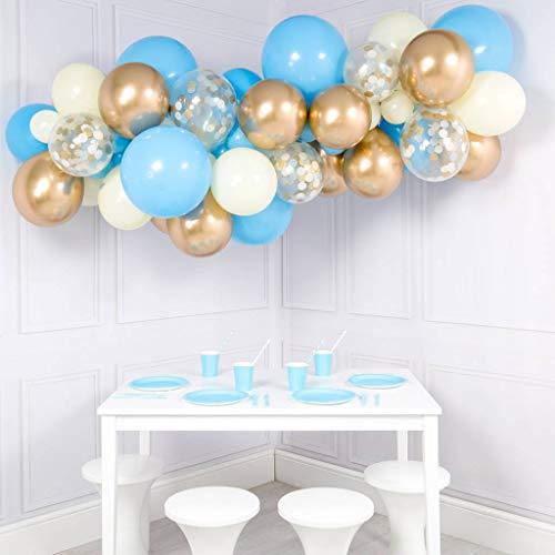 big light blue balloons - 6