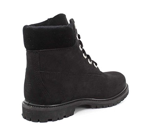 Boots 6in Nubuck Timberland velvet Collar Homme Boot Black Premium qtwwOnaxp