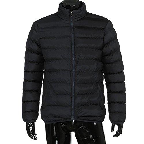 Packable Black KEERADS Down Men's Jacket Puffer YC55Fwq