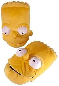 United Labels 0803871 - Zapatillas de estar por casa de Los Simpson: Bart Simpson (talla 38/40) [Importado de Alemania]