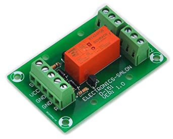electronics salon bistable  latching dpdt 8 amp power relay module  dc5v coil  rt424f05 amazon Bistable Relay Circuit Bistable Dpdt Latching Relay