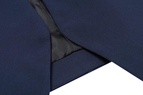 Autunno Fashion Cucitura Tempo Donna Manica Con Slim Cerniera Giacche Dunkelblau Giacca Lunga Da Blazer Fit Chic Elegante Libero Sudore Tailleur Classiche Business Primaverile Outerwear x66Iq0AE