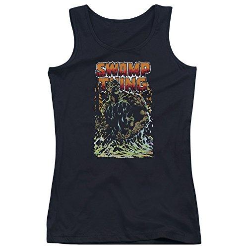 Jla - Swamp Thing Junior Tank Top
