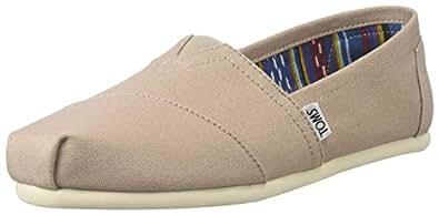 TOMS Women's Classic Sneakers Shoes (42-43 M EU/12 B(M) US, Light Grey)