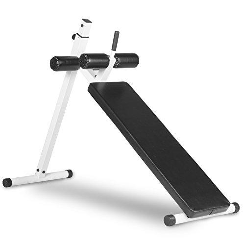 XMark Fitness XM-4380-WHITE Ab Bench by XMark Fitness