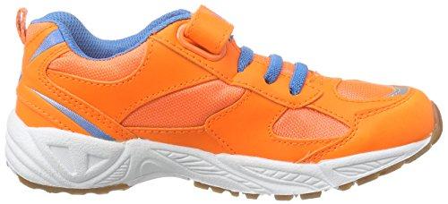 LicoBernie VS - Zapatillas Deportivas para Interior Niños Naranja - Orange (orange/blau/silber)