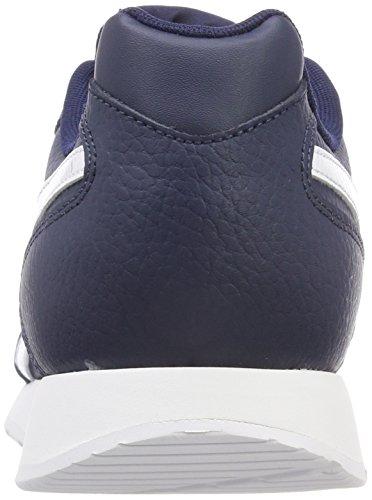 Glide Uomo Collegiate Royal Reebok Sneaker Navy White Blu U5wtqfq