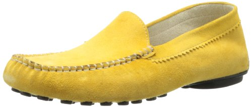 French Sole FS/NY Women's Stella Suede Slip-On Loafer - Y...