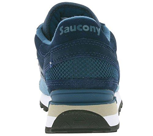 Saucony Shadow Original - S702577 - Colore: Azzuro-Blu Marino - Taglia: 40.0