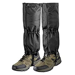 Unigear waterproof gaiters are the protection for your legs! They also protect your boot, clothing against scratches and abrasion. The Benefits of Unigear Gaiters Keep your feet dry Prevents scratches on your legs Keep out mud, sand and rocks...