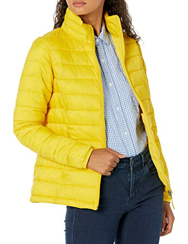 Amazon Essentials Women's Lightweight Water-Resistant Packable Down Jacket