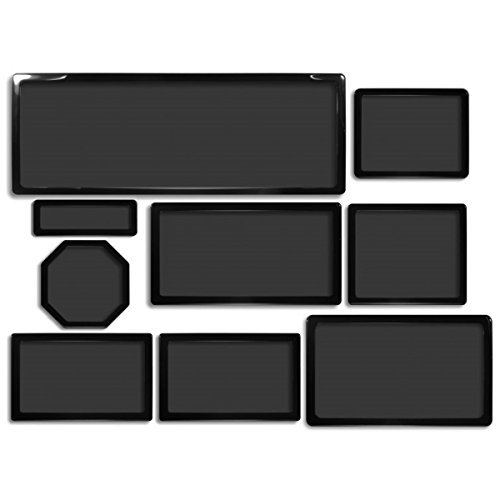 DEMCiflex Dust Filter Kit for Phanteks Enthoo Primo (8 Filters), Black Frame, Black Mesh by DEMCiflex