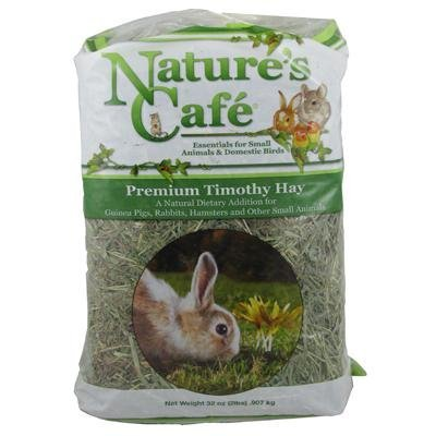 (Nature's Cafe Timothy Hay Bale 2 Pound Small Pet)