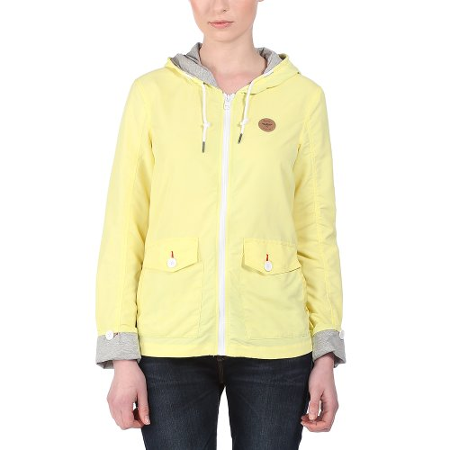 Bench Jacke Summertide - Chaqueta técnica para mujer, color limelight, talla M limelight