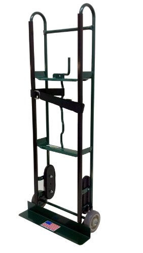 Harper Trucks 800 lb Capacity Steel Appliance Hand Truck with Offset Belt Tightener by Harper Trucks
