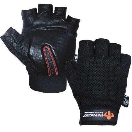 Anti-Vibration Gloves, L, Black, PR