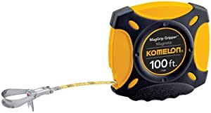 Komelon 7100 MagGrip Gripper 100-Foot Measuring Tape with Magnetic End