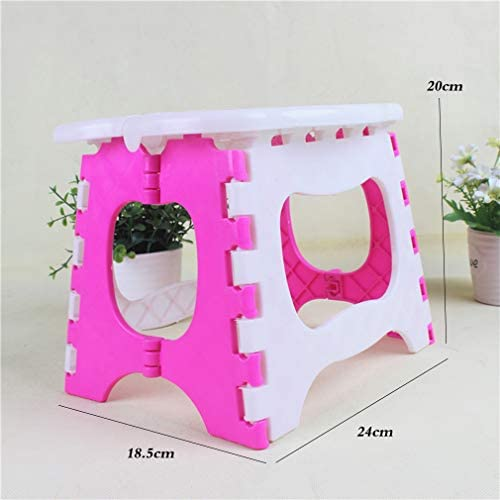 Childrens Stool Cute Cartoon Cat Foldable Step Stool for Eating Changing Shoes and Brushing Teeth
