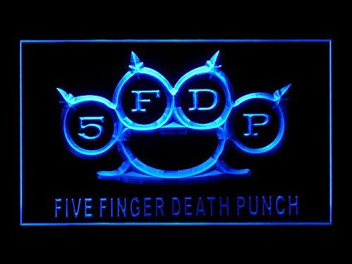 Five Finger Death Punch Hub Bar Advertising LED Light Sign P401B